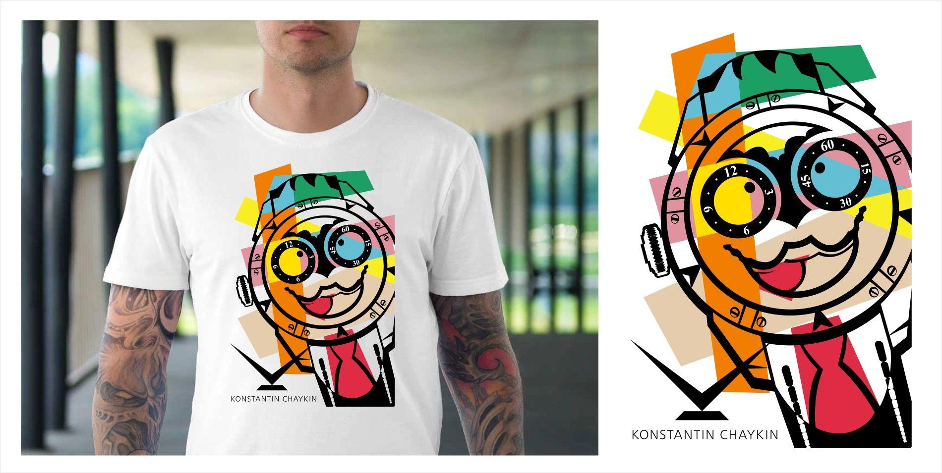 Футболка для Konstantin Chaykin - дизайнер kras-sky